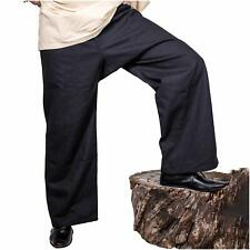 Mythrojan Warrior Canvas Trousers Medieval Viking Knight Pirate Cotton