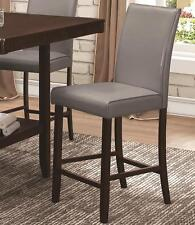 Fattori Gray Counter Height Parsons Dining Chair by Coaster 105319 - Set of 2