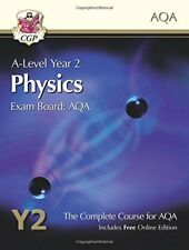 New A-Level Physics for AQA: Year 2 Student Book with Online Edition,CGP Books