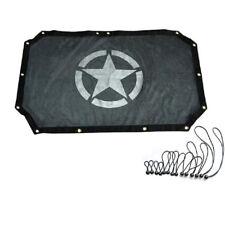 Eclipse SunShade Soft Bikini Top Cover UV Protection Roof Mesh For Jeep Wrangler