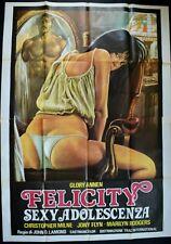 manifesto 4FG FELICITY SEXY ADOLESCENZA GLORY ANNEN MILNE FLYN PORNO SEXY