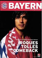 BL 2002/03 FC Bayern München-Hertha BSC, 30.11.2002 - POSTER Sammy Kuffour