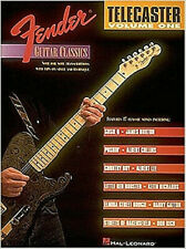 Fender Tele Classics BOOK by Hal Leonard Guitar Instruction NEW w/FREE SHIPPING