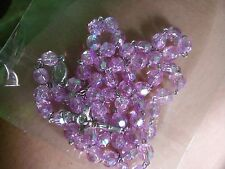 Violet Pink Beads Handmade Rosary Gift Set Giveaways Gift ideas