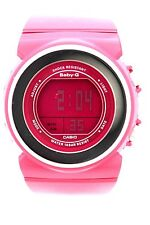 CASIO BGD104-4 BABY-G DIGITAL DIAL Pink SPORT WATCH Pink Resin Band