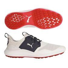 Puma Zapatos De Golf Para Hombres Ignite NXT Encaje-Plateado/Blanco o Chaquetón/Blanco