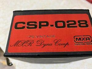 MXR Dyna Comp Compressor Pedal CSP.028 Custom shop