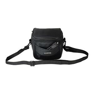 Faux Leather Camera Bag with Strap for Nikon Canon Pentax Panasonic Samsung Sony