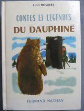Contes et légendes du Dauphiné, Nathan 1980