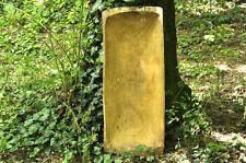 """HUGE 34"""" ANTIQUE PRIMITIVE FARM WOODEN CARVED BREAD DOUGH BOWL TROUGH TRENCHER"""