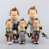HELLO NEIGHBOR Plush Toy Mr. Peterson With Mug Neighbor Stuffed Doll xmas Gift