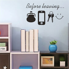 Family Letter Quote Removable Vinyl Decal Art Mural Home Decor Wall Stickers DIY