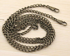 120 CM / 47.24 Inch Smooth Metal Chain for Handbag purse or Shoulder strap bag