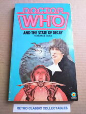 Doctor Who and The State of Decay - Vintage Target Paperback (1982)