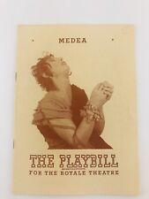 The Playbill Royale Theatre Madea January 1948 New York City NYC