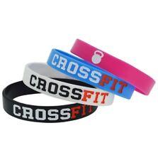 Gym Bodybuilding Fitness Motivation Silicone Wristband Bracelet Bangle Crossfit