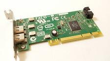 Basso profilo 2 porte & intestazione interna PCI Firewire Card fae10 AM1 dell 0j886h
