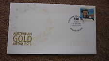 2004 AUSTRALIAN ATHENS OLYMPIC GOLD MEDAL FDC, ADELAIDE, IAN THORPE SWIMMING 1