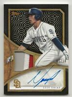 2019 Topps Update LUIS URIAS Reverence Auto Patch 1/10 Autograph Jersey Relic RC