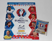PANINI road to UEFA EURO 2016 FRANCE STICKER – ALBUM VUOTO EMPTY ALBUM VUOTO RARE!