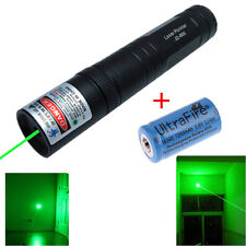 Military Powerful Green 5MW 532nm Laser Pointer Pen Light Visible Beam + Battery