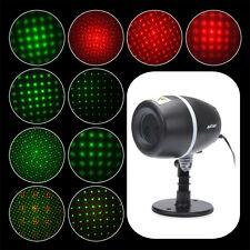 ANTSIR Waterproof Red&Green Shower Motion Laser Light Projector Star Light Lamp