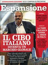 * ESPANSIONE N°6 /GIU/2014 * IL CIBO ITALIANO DIVENTA UN MARCHIO GLOBALE *
