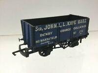 Slaters OO Gauge Kit Built 7 Plank Wagon Kaye Denby Grange Collieries