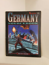 Shadowrun: Germany Sourcebook, RPG, Fasa, Softcover