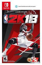 NBA 2K18 Legend Edition (Nintendo Switch, 2017) Brand New Factory Sealed USA