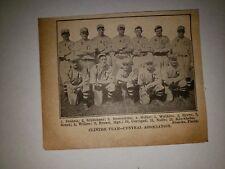 Clinton Pilots & Fargo-Moorhead Graingrowers 1916 Team Picture Bing Miller