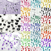 12000pcs Mixed Diamond Acrylic Confetti Wedding Table Crystals Scatter Decor