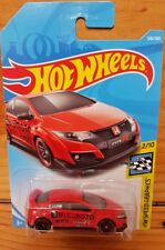 Hot Wheels 2018 HW SPEED GRAPHICS 2/10 '16 HONDA CIVIC TYPE R 126/365 (A+/A)