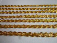 2 METER Gold Spitze 1cm Borte elegante top mode ****