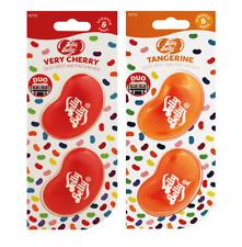 paquete de 2 jalea vientre muy cereza y mandarina mini ventilación 3d gel dúo pa