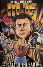 More details for mjf signed 11x17 artwork autographed pro wrestling coa aew