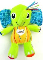 Lamaze All Ears Elephant Rattle Sensory Plush Baby Pram Activity Teether Toy