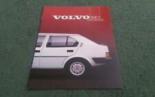1985 VOLVO 340 HATCHBACK DL GL UK BROCHURE First Edition