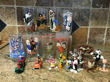Lot of 20 Warner Bros Looney Tunes promo anime glass & figures