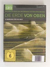 DVD Die Erde von oben Geo 5 Nahrung für die Welt Arthus Bertrand Neu