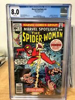 Marvel Spotlight #32 (1977 Marvel) Mark Jewelers Variant - CGC 8.0 WHITE pages
