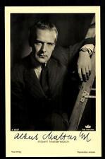 Albert Matterstock Ross Autogrammkarte Original Signiert ## BC 32761