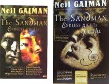 Sandman Endless Nights Neil Gaiman Vertigo Hardcover + Bonus New 2003