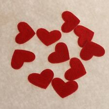 10pcs Sewing Applique Badge Stickers Clothes Apparel Heart Embroidered Patches