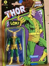 Kenner Marvel Legends 2021 Retro Loki Wave 4 3.75? Action Figure Last One