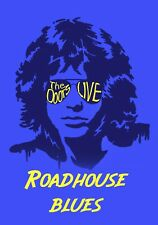 """The Doors Poster Art """"Roadhouse Blues"""" Large 20x30 Poster Reproduction 60s Psych"""