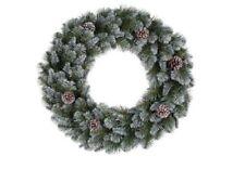 Triumph Empress Spruce Pine Artificial Christmas Wreath 60cm With Cones