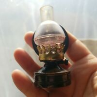 Vintage Die Cast Miniature Pencil Sharpener Vintage FANCY OIL LAMP