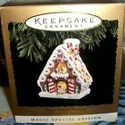 Gingerbread Fantasy`1994`The Candy Canes And Gingerbread Turn,Hallmark Ornament