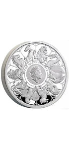 The Queens Beasts UK 2021 1oz silver proof completer coin